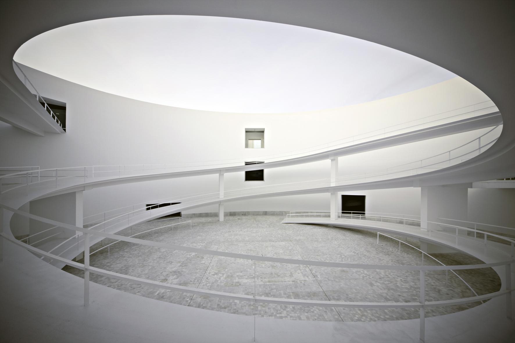 Alberto Campo Baeza Museo Andalucia 2009 Rampa 2