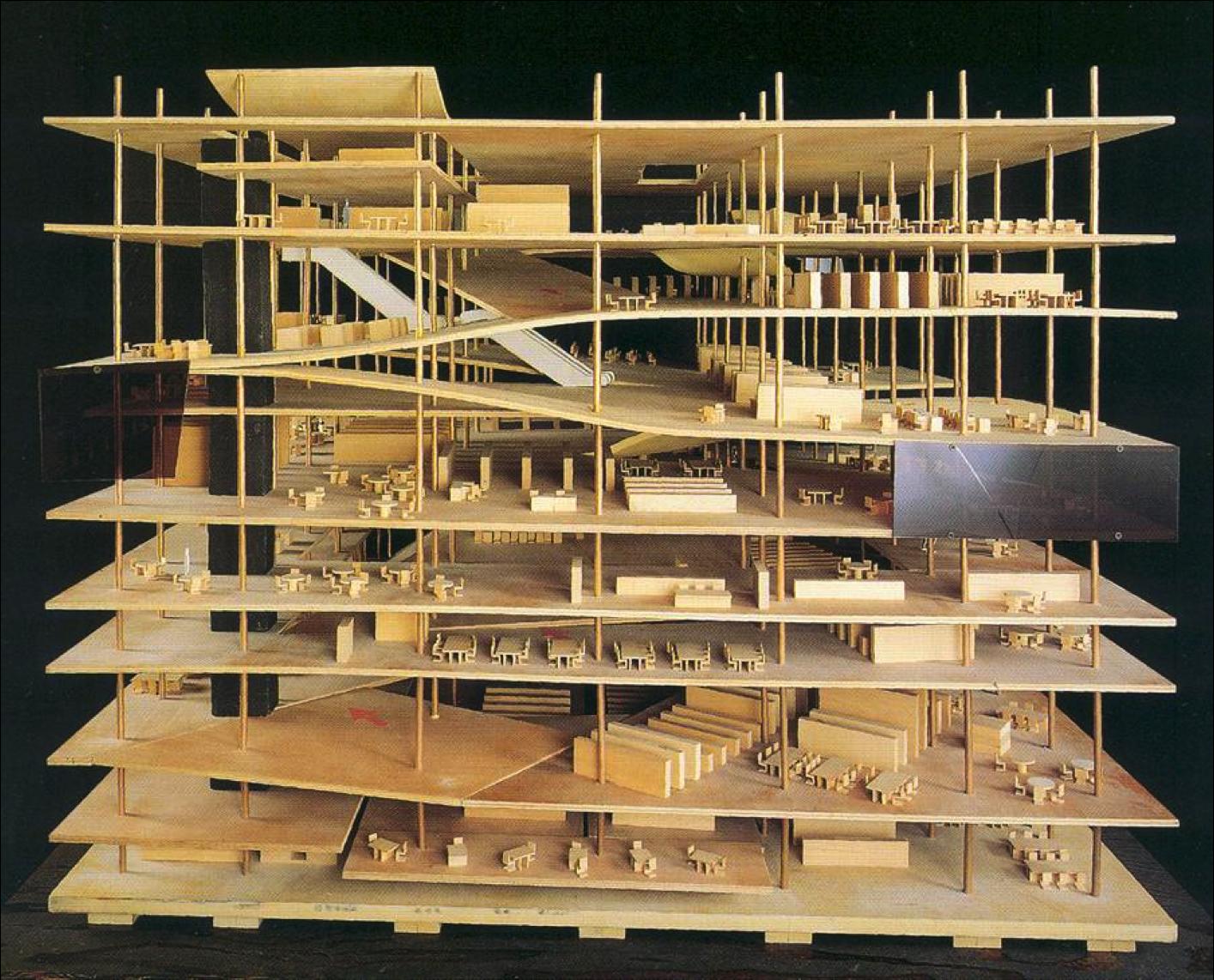 Rem Koolhaas Biblioteca Paris 3