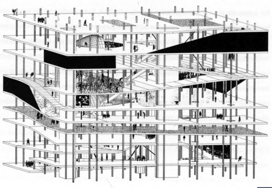Rem Koolhaas Biblioteca Paris 5