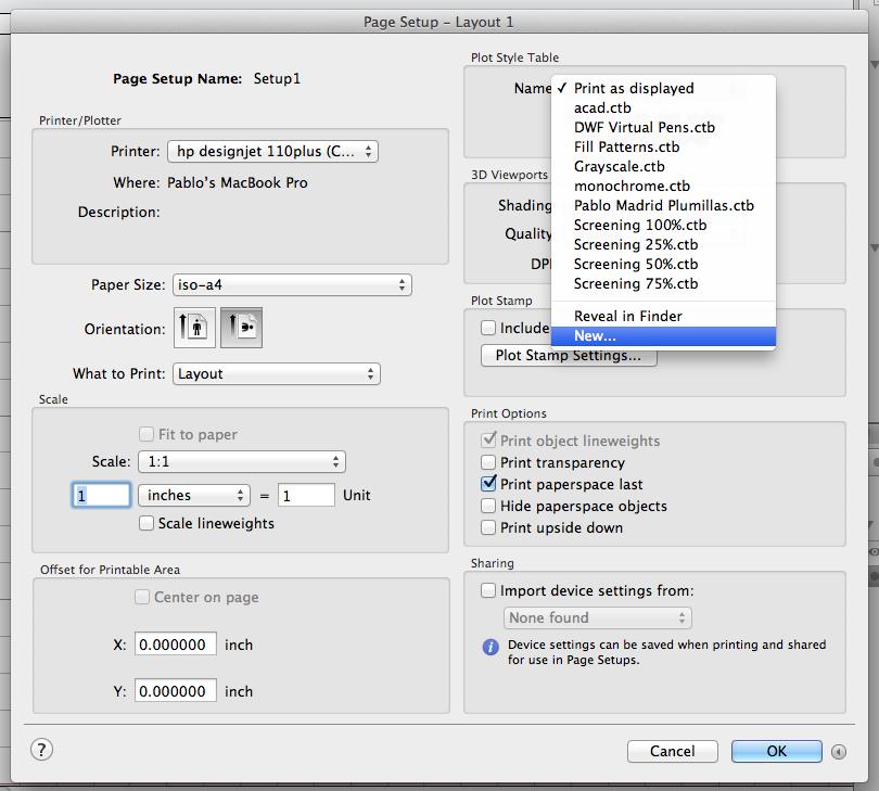 Tutorial Crear Plumillas Autocad Mac 2013 4