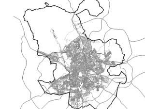 Cartografia Madrid Manzanas (DWG)