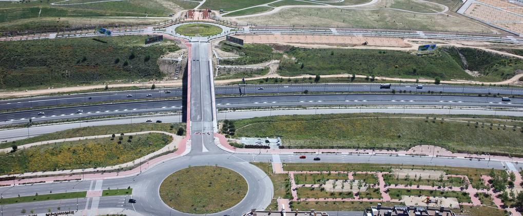 Valdebebas_Autopista_isla_Ciudad_Generica_pmadrid 3