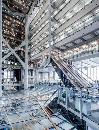 Escaleras Entrada Foster Banco de HongKong 2