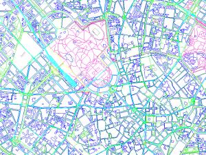 Cartografía Milan Completo (DWG)